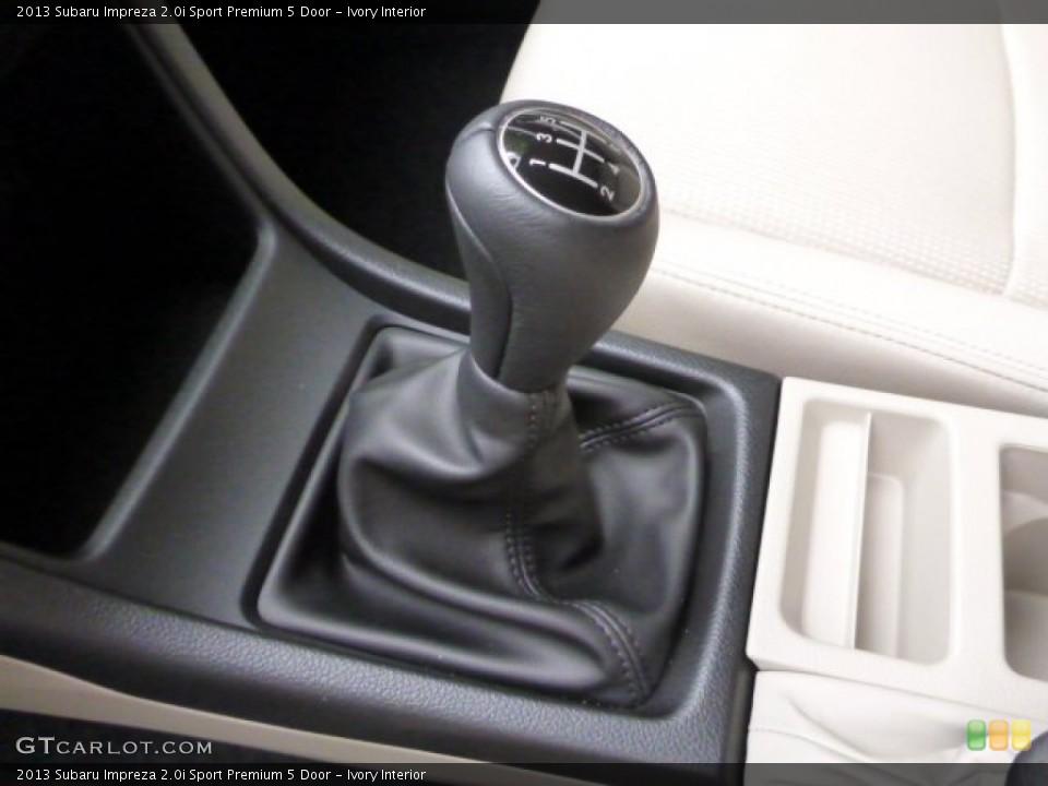 Ivory Interior Transmission for the 2013 Subaru Impreza 2.0i Sport Premium 5 Door #82873701