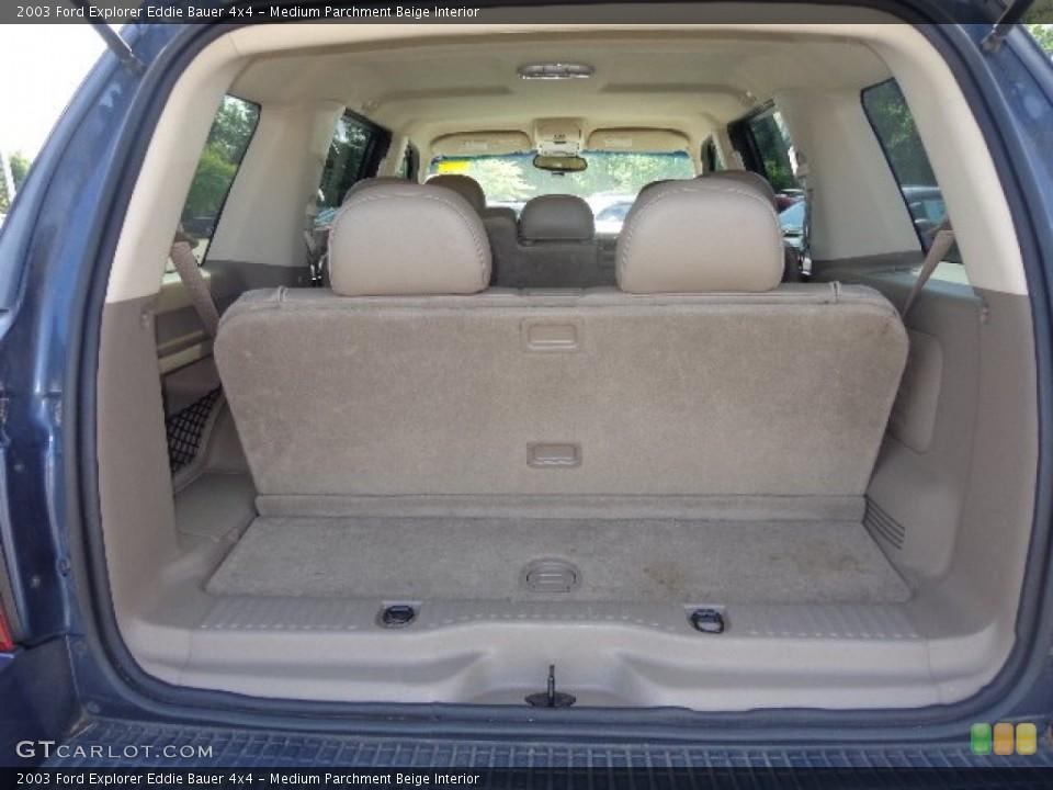 Medium Parchment Beige Interior Trunk for the 2003 Ford Explorer Eddie Bauer 4x4 #82914749