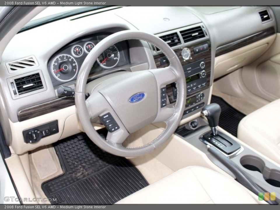 Medium Light Stone Interior Dashboard For The 2008 Ford Fusion Sel V6 Awd 83008442