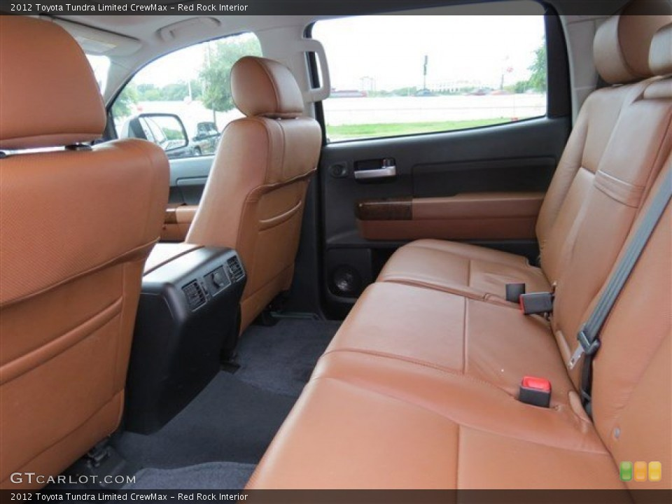Red Rock Interior Rear Seat for the 2012 Toyota Tundra Limited CrewMax #83089604