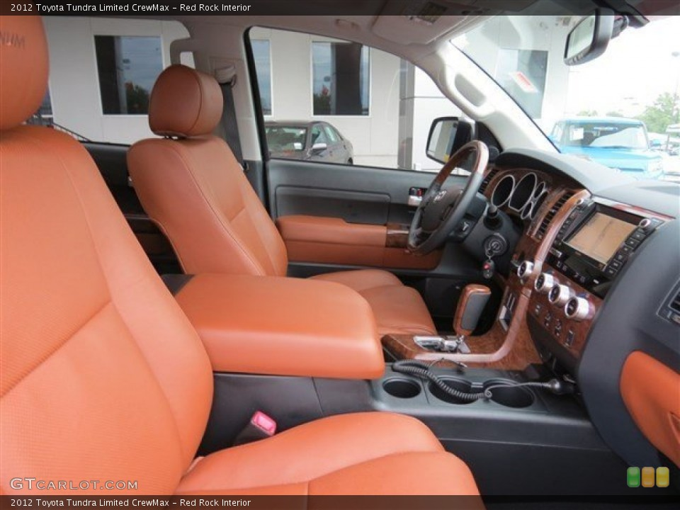 Red Rock Interior Front Seat for the 2012 Toyota Tundra Limited CrewMax #83089624