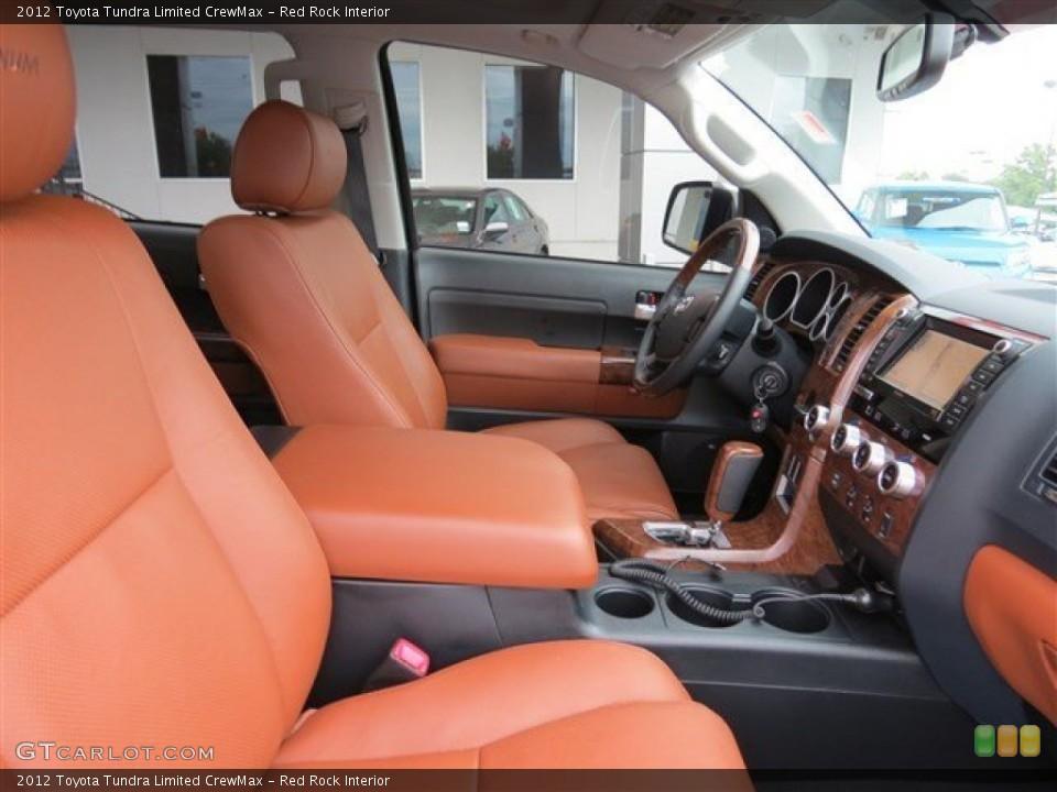 Red Rock 2012 Toyota Tundra Interiors