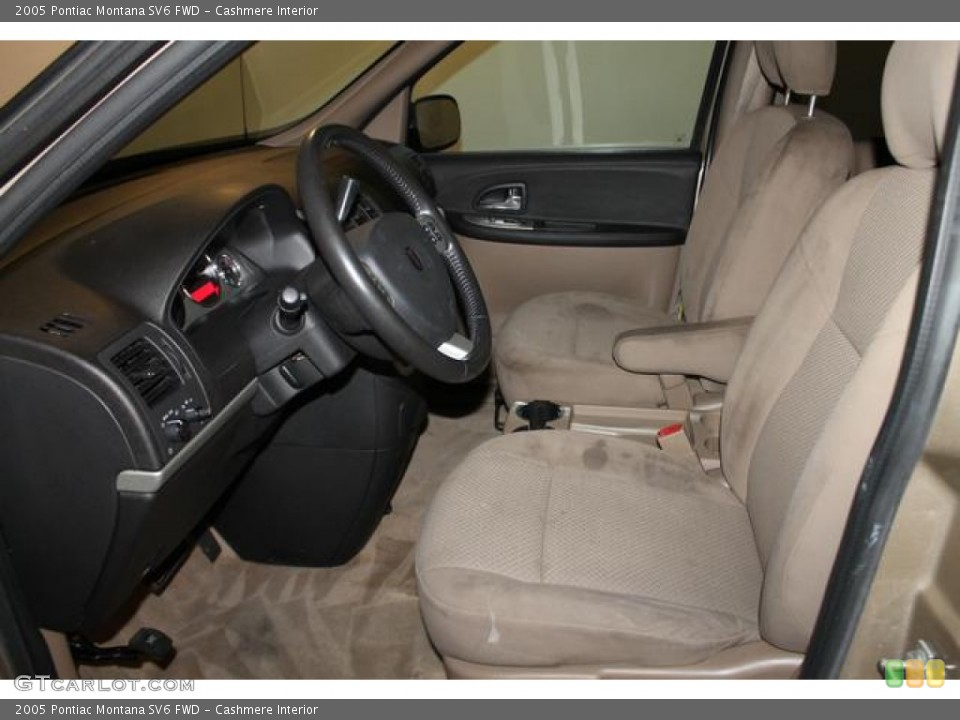 Cashmere Interior Front Seat for the 2005 Pontiac Montana SV6 FWD #83372272