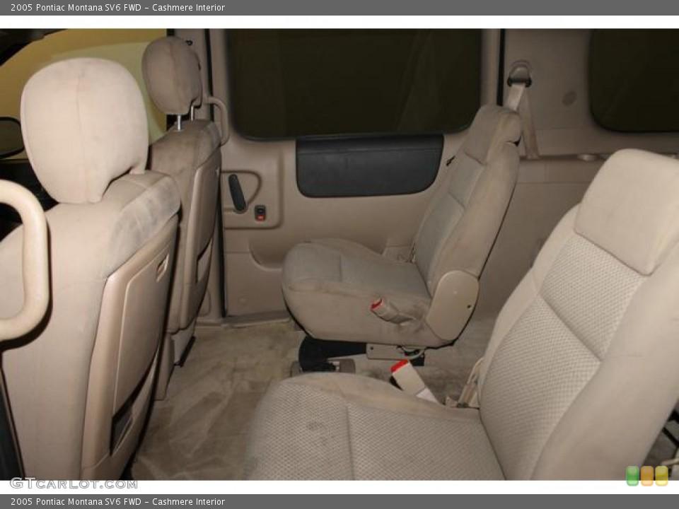 Cashmere Interior Rear Seat for the 2005 Pontiac Montana SV6 FWD #83372293