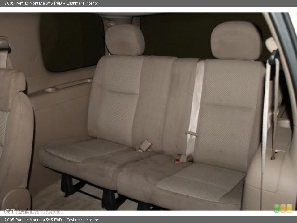 Cashmere Interior Rear Seat for the 2005 Pontiac Montana SV6 FWD #83372308
