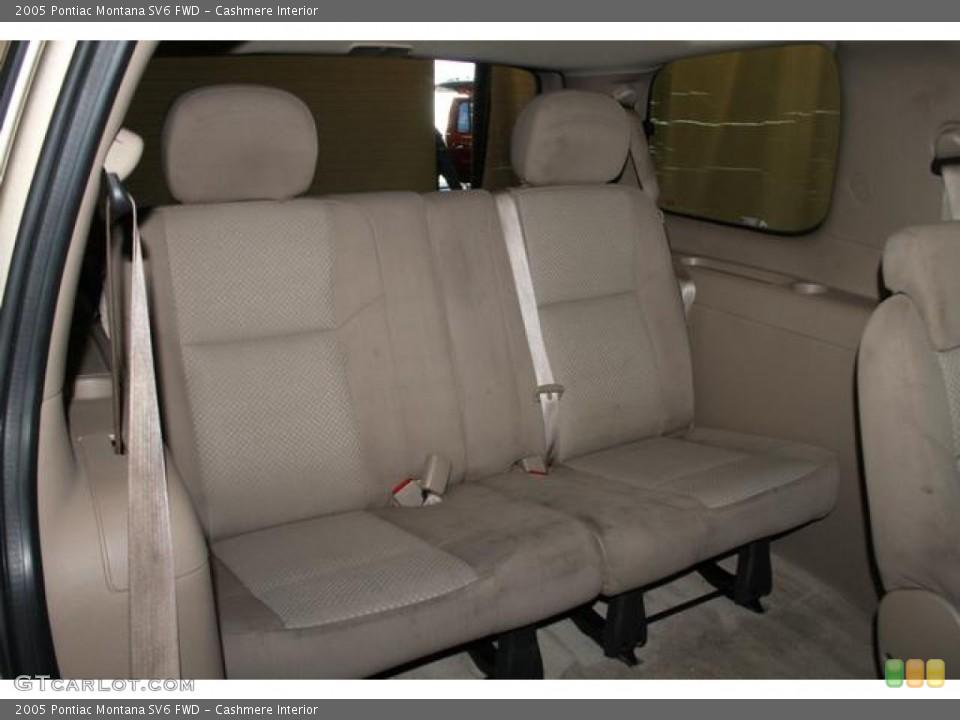 Cashmere Interior Rear Seat for the 2005 Pontiac Montana SV6 FWD #83372320