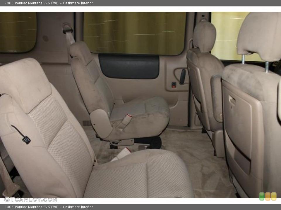 Cashmere Interior Rear Seat for the 2005 Pontiac Montana SV6 FWD #83372347