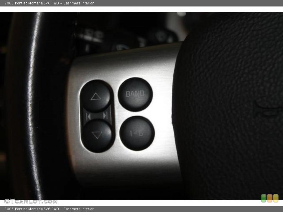 Cashmere Interior Controls for the 2005 Pontiac Montana SV6 FWD #83372446