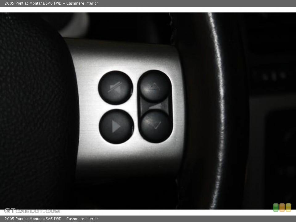 Cashmere Interior Controls for the 2005 Pontiac Montana SV6 FWD #83372464