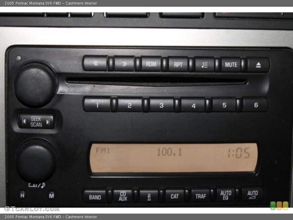 Cashmere Interior Audio System for the 2005 Pontiac Montana SV6 FWD #83372477