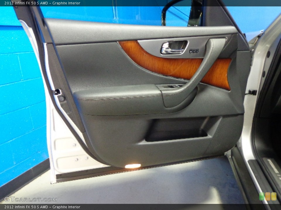 Graphite Interior Door Panel for the 2012 Infiniti FX 50 S AWD #83374441