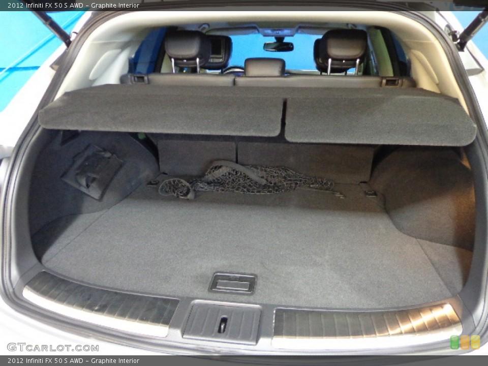Graphite Interior Trunk for the 2012 Infiniti FX 50 S AWD #83374468
