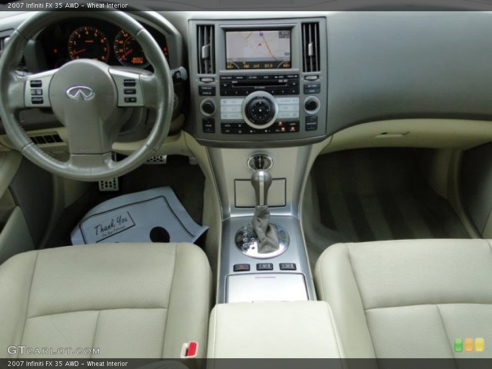 Wheat Interior Dashboard for the 2007 Infiniti FX 35 AWD #83408244