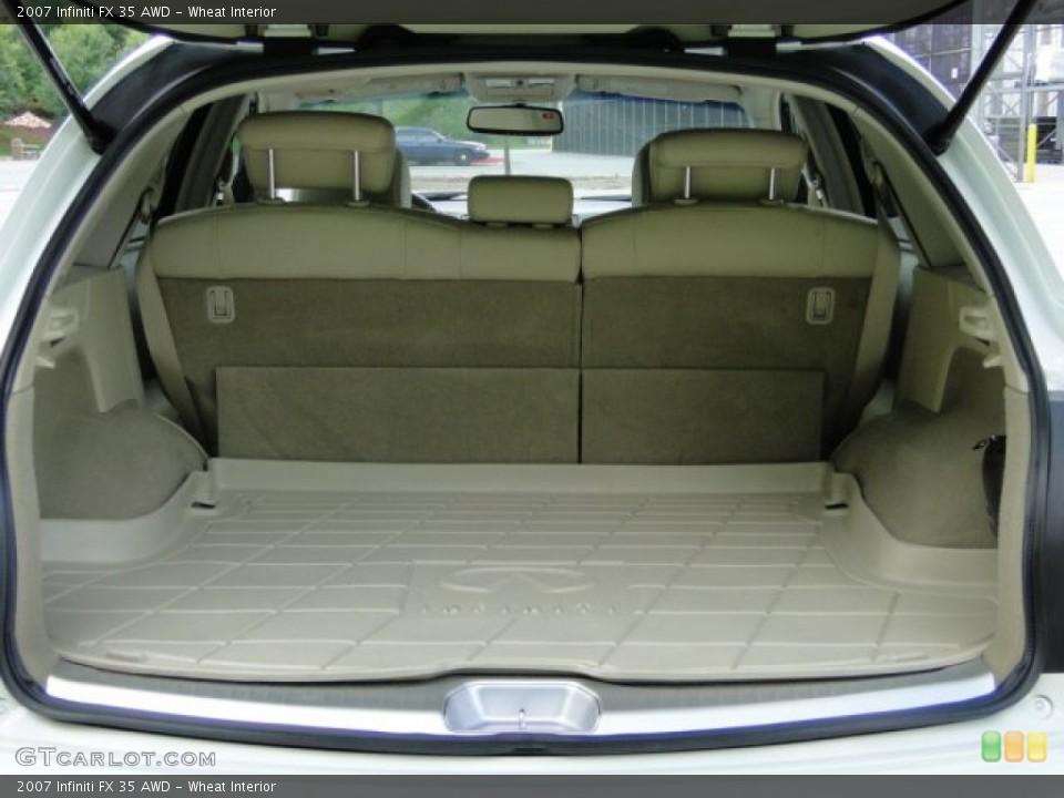 Wheat Interior Trunk for the 2007 Infiniti FX 35 AWD #83408473
