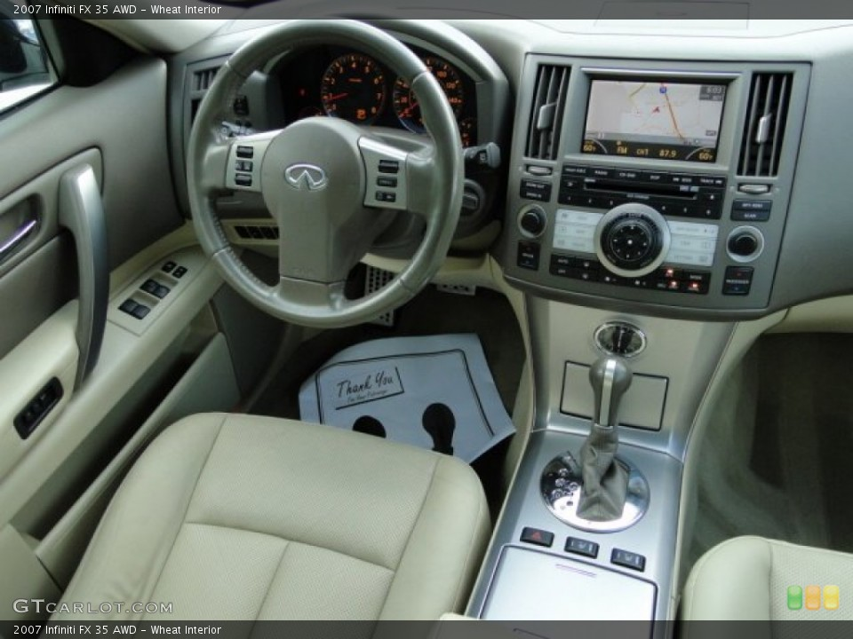 Wheat Interior Dashboard for the 2007 Infiniti FX 35 AWD #83408587