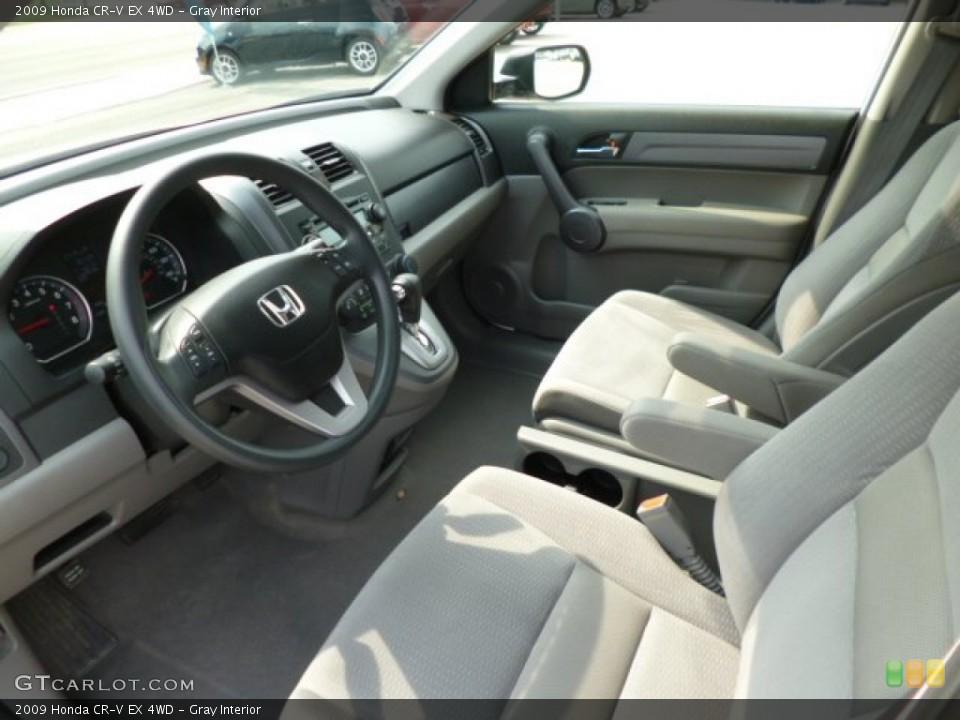 Gray Interior Photo for the 2009 Honda CR-V EX 4WD #83532585
