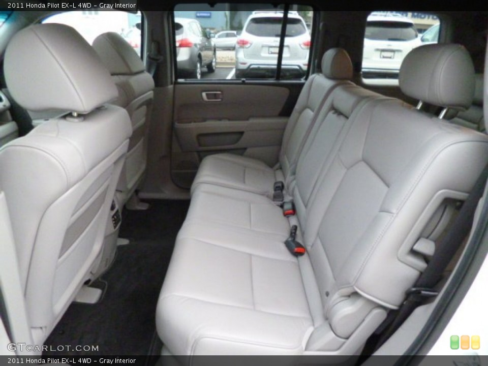 Gray Interior Rear Seat for the 2011 Honda Pilot EX-L 4WD #83533098