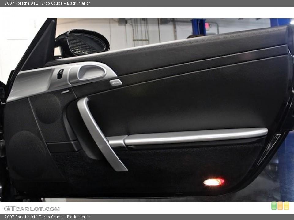 Black Interior Door Panel for the 2007 Porsche 911 Turbo Coupe #83545254