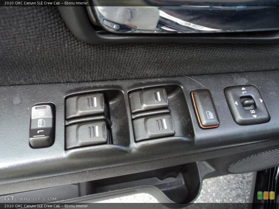 Ebony Interior Controls for the 2010 GMC Canyon SLE Crew Cab #83564970
