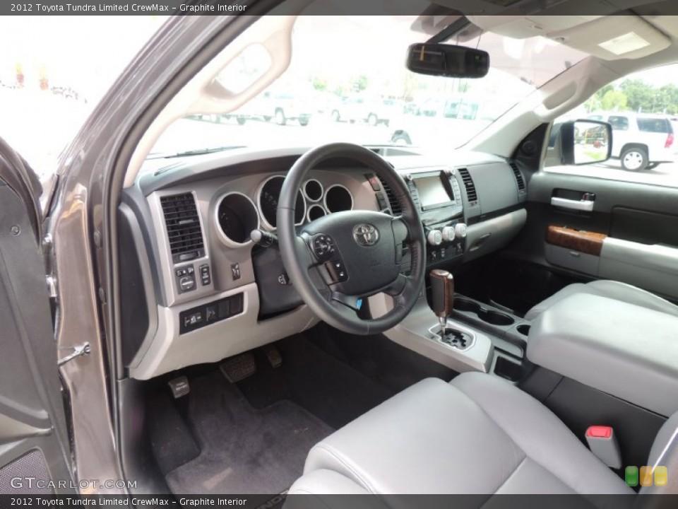 Graphite Interior Prime Interior for the 2012 Toyota Tundra Limited CrewMax #83698072