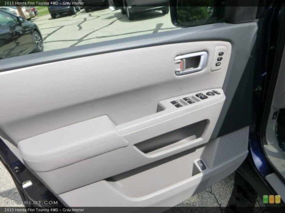Gray Interior Door Panel for the 2013 Honda Pilot Touring 4WD #83753503
