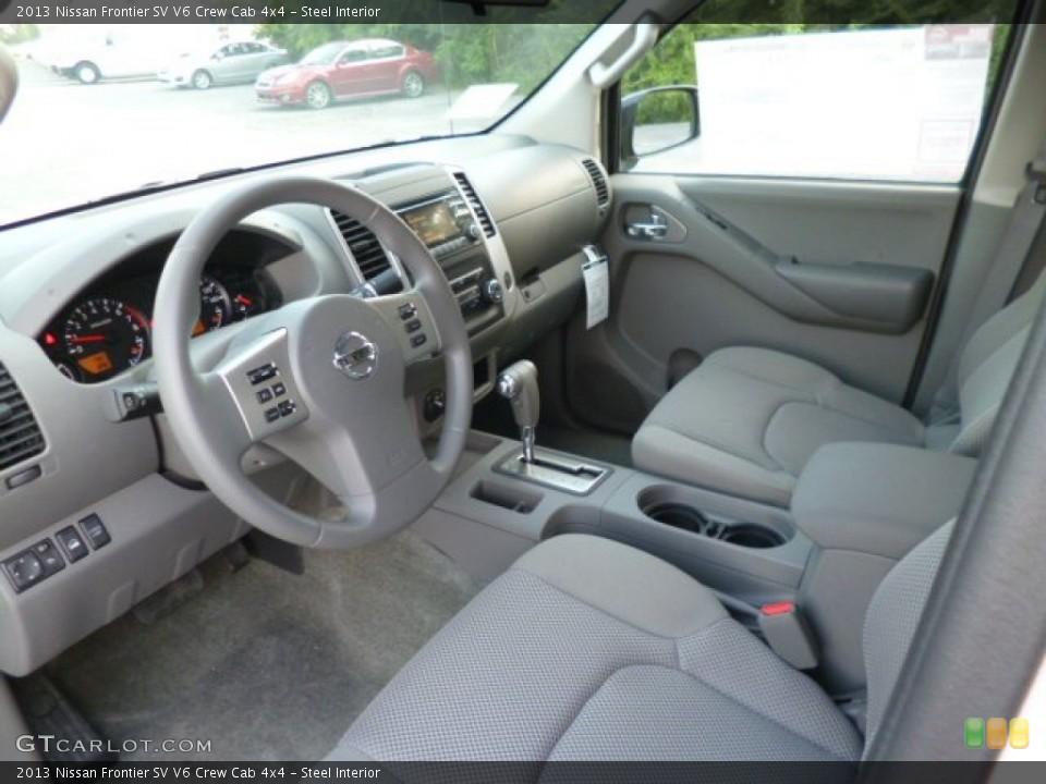Steel 2013 Nissan Frontier Interiors