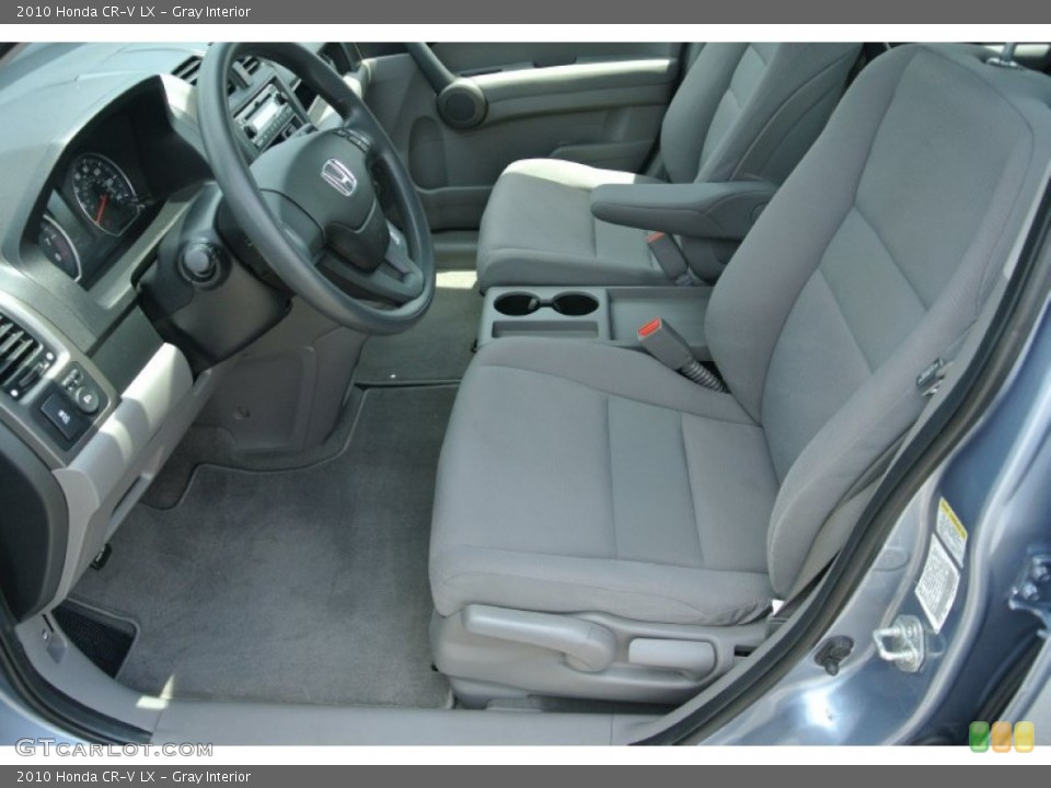 Gray Interior Front Seat for the 2010 Honda CR-V LX #83781895