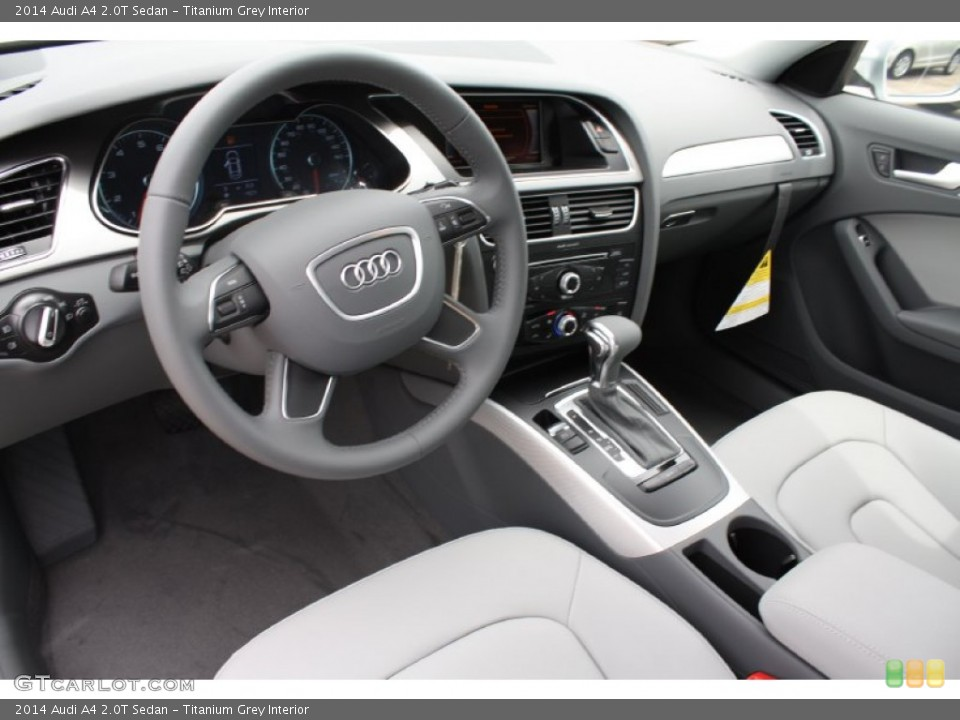 Titanium Grey Interior Photo for the 2014 Audi A4 2.0T Sedan #83782921 ...