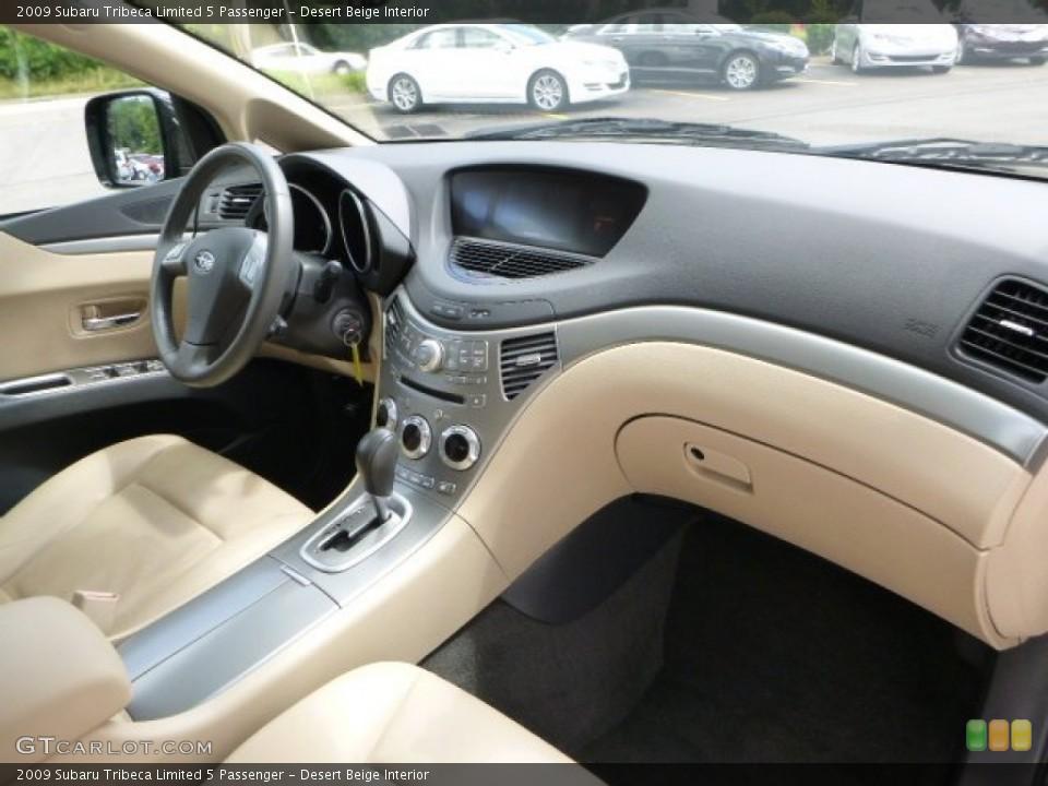 Desert Beige Interior Dashboard for the 2009 Subaru Tribeca Limited 5 Passenger #83790106