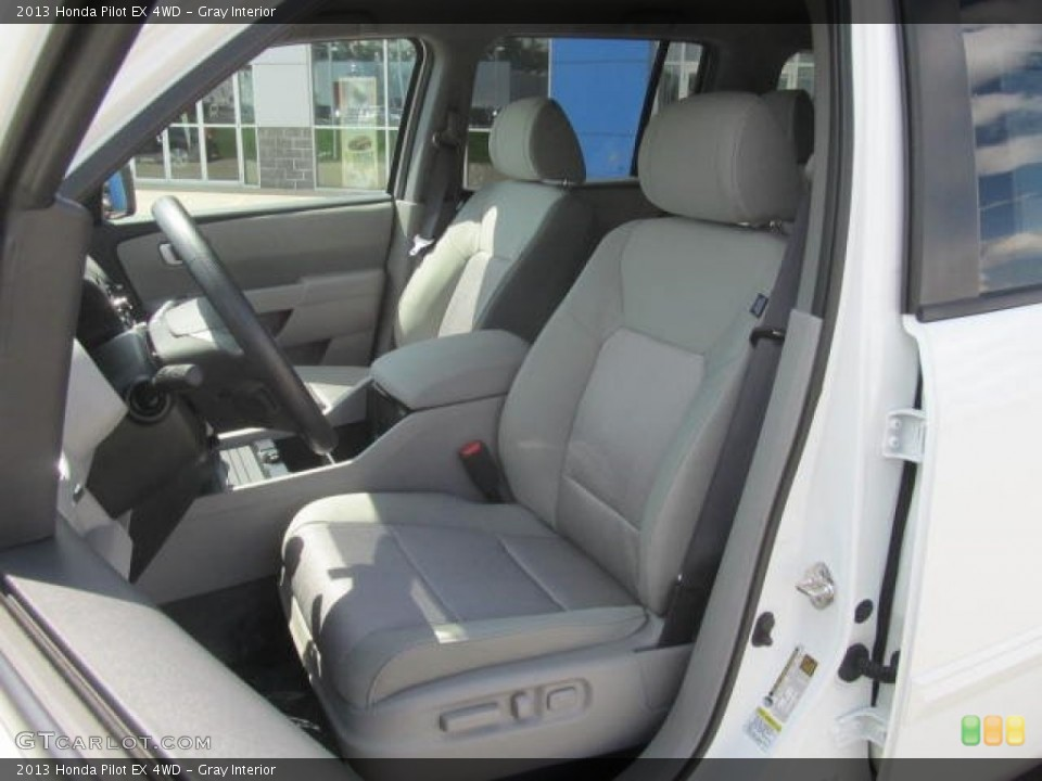 Gray Interior Front Seat for the 2013 Honda Pilot EX 4WD #83994561