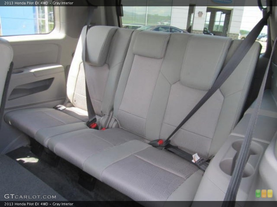 Gray Interior Rear Seat for the 2013 Honda Pilot EX 4WD #83994612