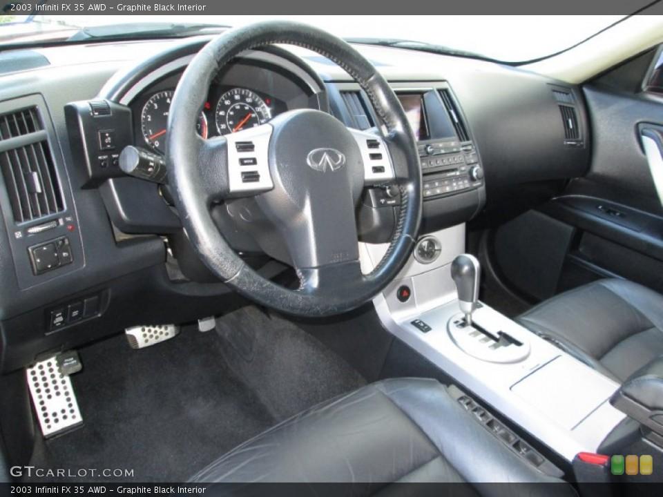 Graphite Black Interior Dashboard for the 2003 Infiniti FX 35 AWD #83995668