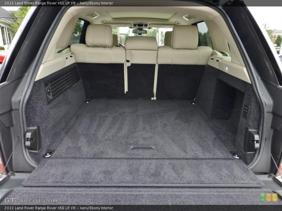 Ivory/Ebony Interior Trunk for the 2013 Land Rover Range Rover HSE LR V8 #84038613