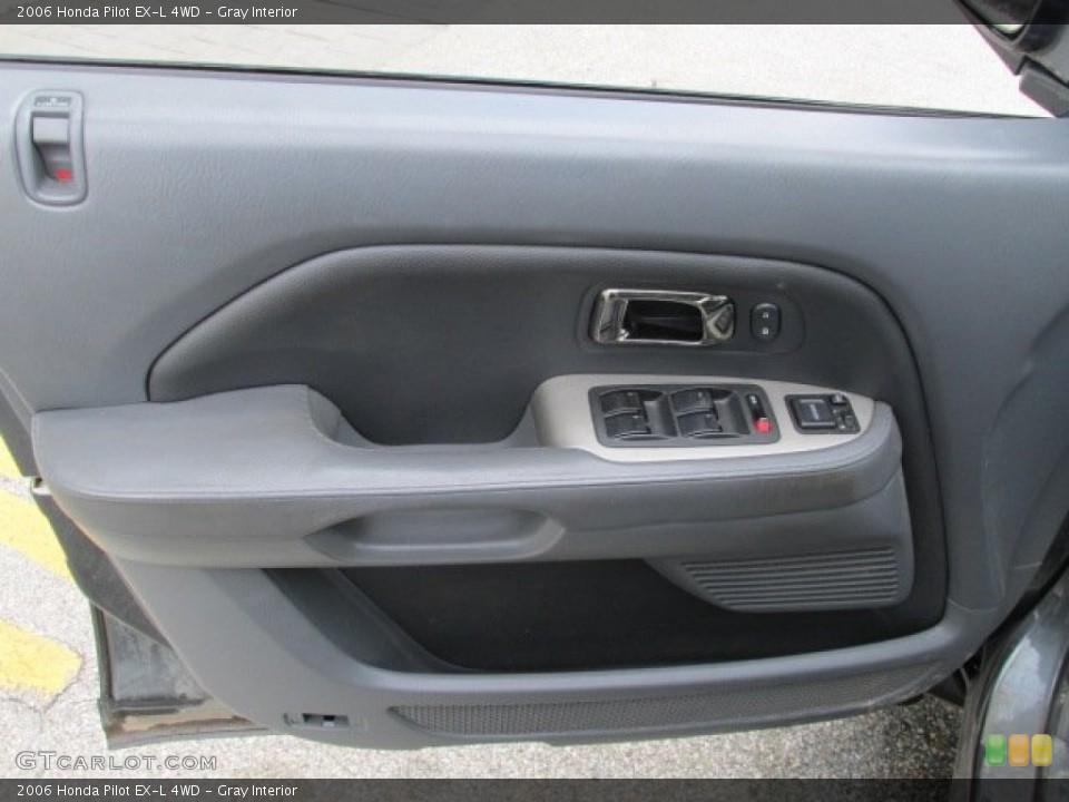 Gray Interior Door Panel for the 2006 Honda Pilot EX-L 4WD #84055730