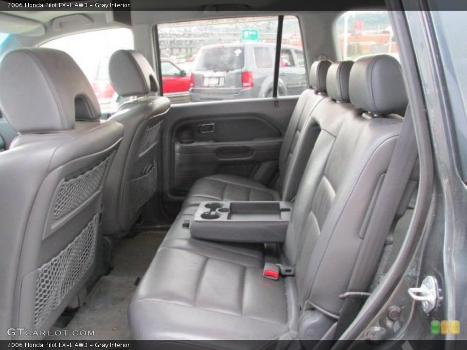 Gray Interior Rear Seat for the 2006 Honda Pilot EX-L 4WD #84055778