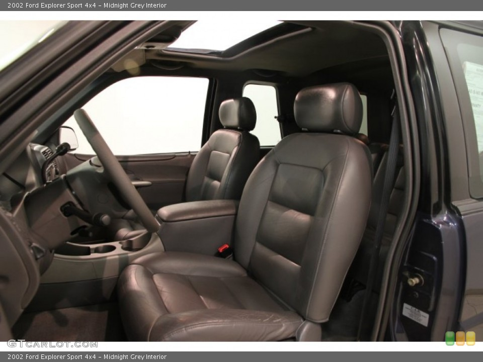 Midnight Grey Interior Front Seat for the 2002 Ford Explorer Sport 4x4 #84096503