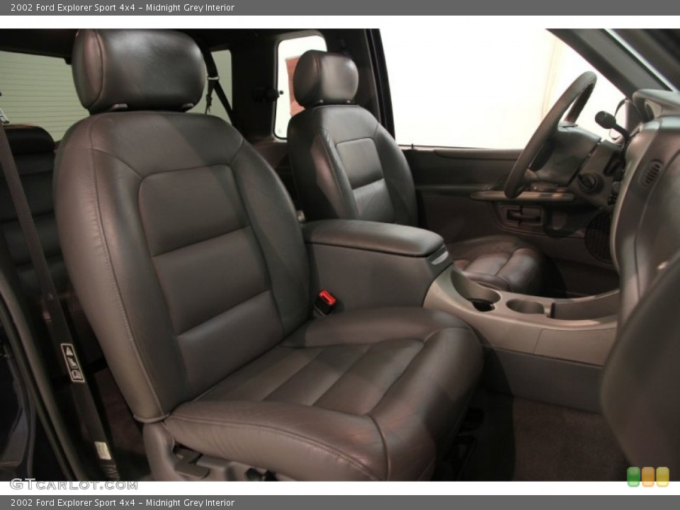 Midnight Grey Interior Front Seat for the 2002 Ford Explorer Sport 4x4 #84096611