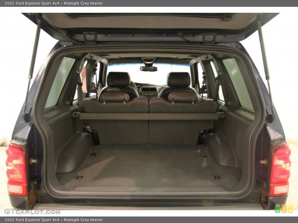 Midnight Grey Interior Trunk for the 2002 Ford Explorer Sport 4x4 #84096677