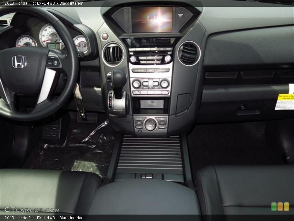 Black Interior Controls for the 2013 Honda Pilot EX-L 4WD #84101702