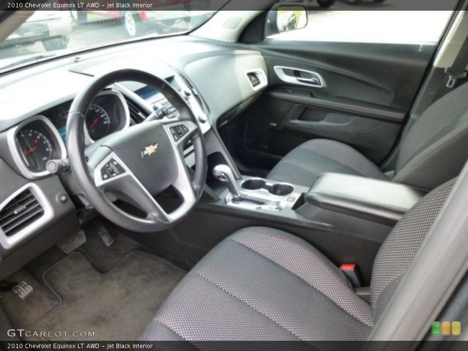 Jet Black 2010 Chevrolet Equinox Interiors