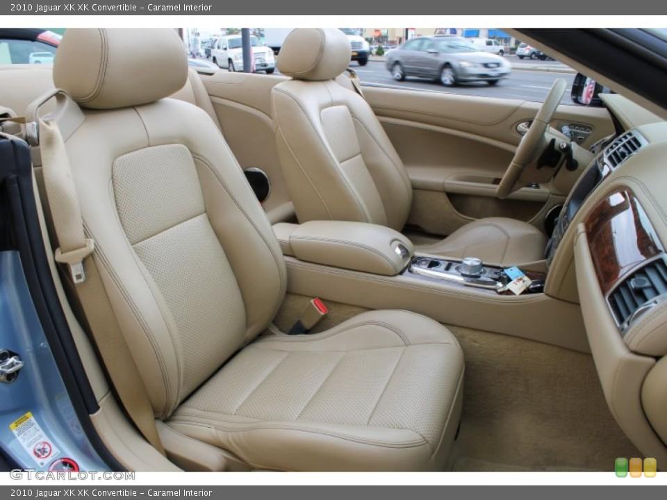 Caramel Interior Front Seat for the 2010 Jaguar XK XK Convertible #84500475