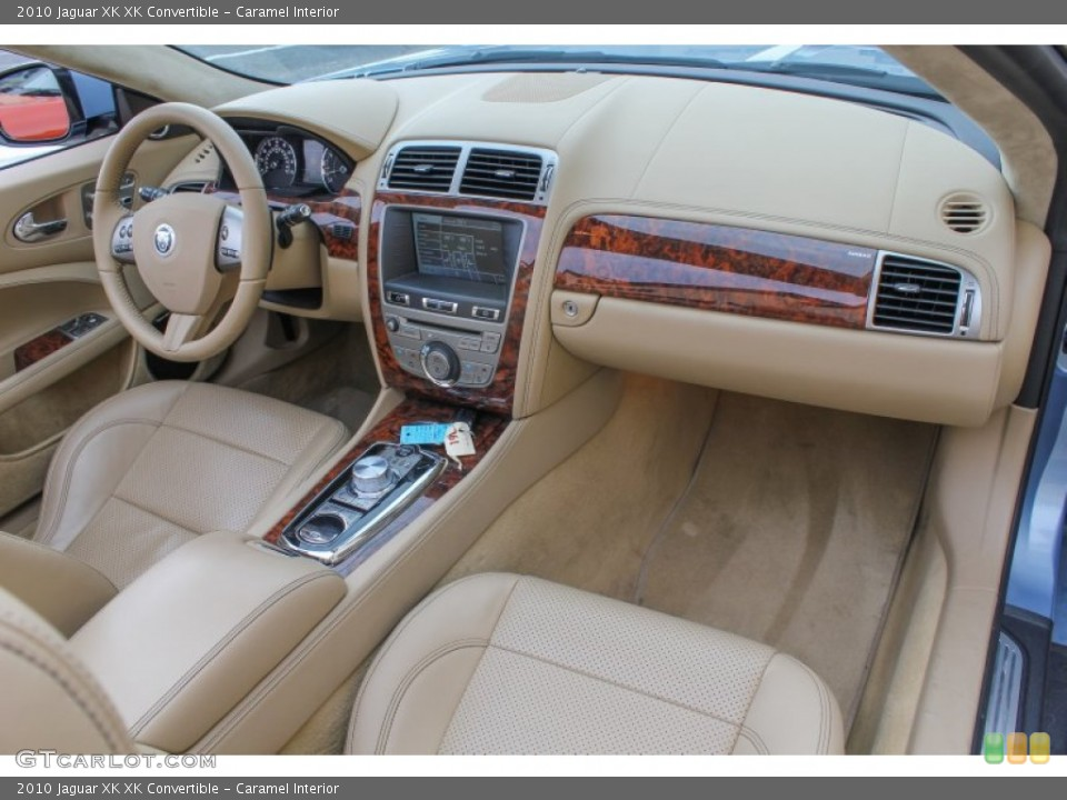 Caramel Interior Dashboard for the 2010 Jaguar XK XK Convertible #84500496