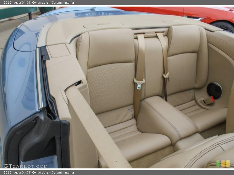 Caramel Interior Rear Seat for the 2010 Jaguar XK XK Convertible #84500517