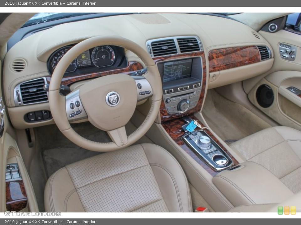 Caramel Interior Prime Interior for the 2010 Jaguar XK XK Convertible #84500589