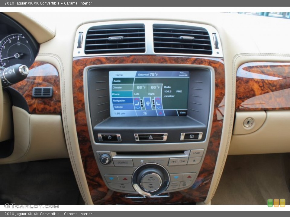 Caramel Interior Controls for the 2010 Jaguar XK XK Convertible #84500610