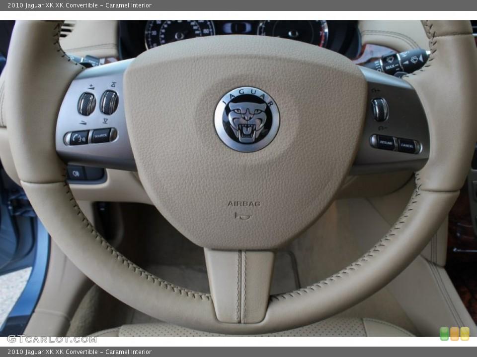 Caramel Interior Controls for the 2010 Jaguar XK XK Convertible #84500730