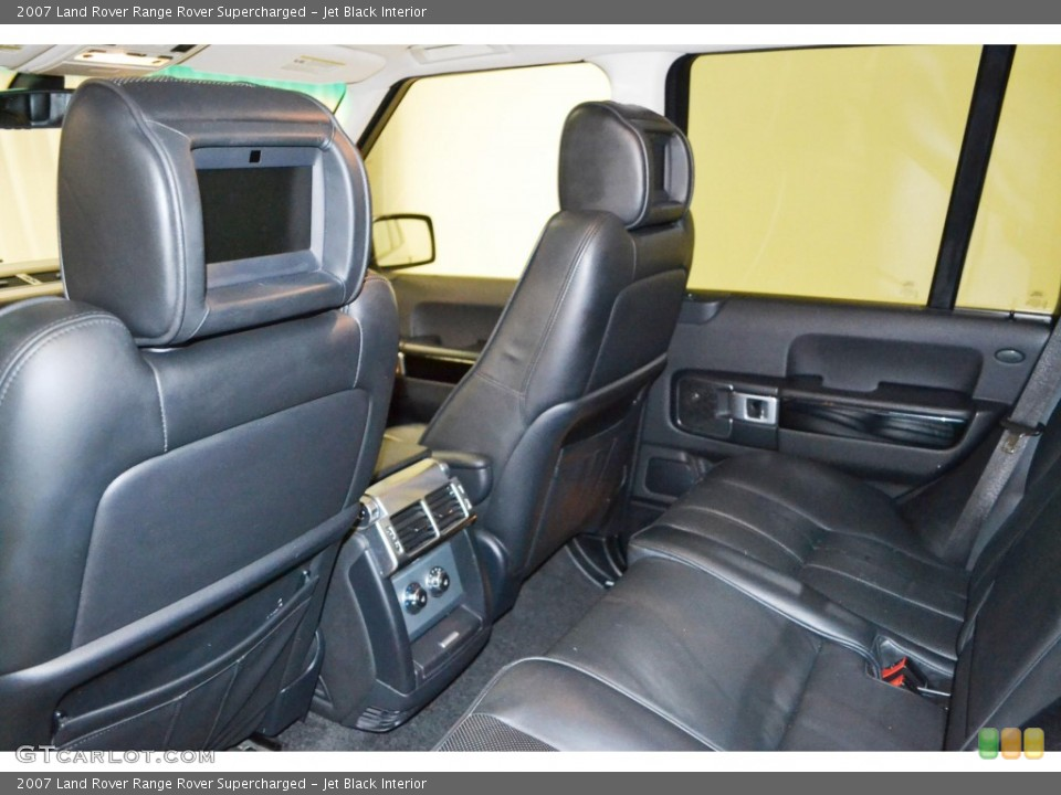 Jet Black Interior Entertainment System for the 2007 Land Rover Range Rover Supercharged #84505482