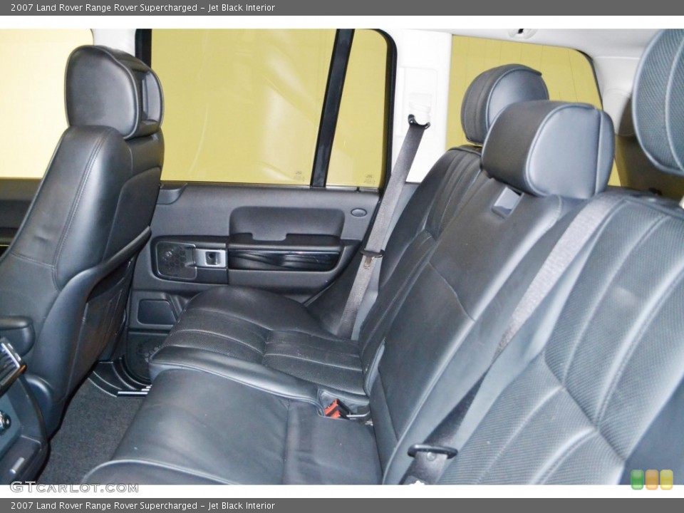 Jet Black Interior Rear Seat for the 2007 Land Rover Range Rover Supercharged #84505536