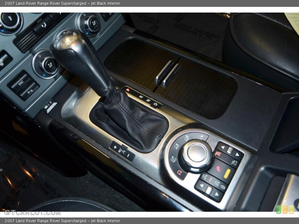 Jet Black Interior Transmission for the 2007 Land Rover Range Rover Supercharged #84506088