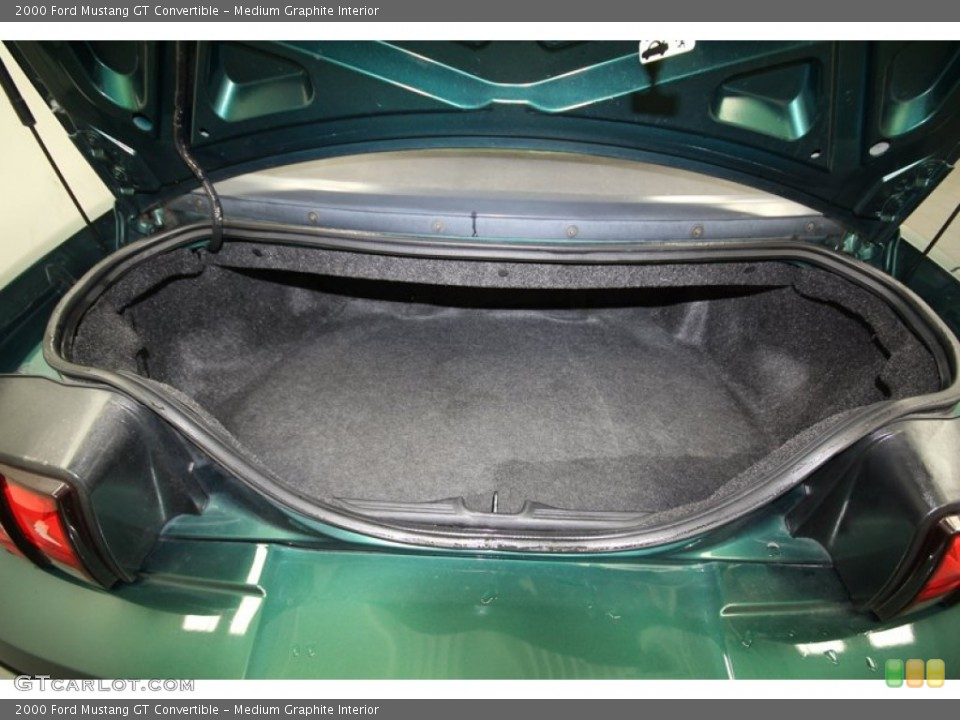 Medium Graphite Interior Trunk for the 2000 Ford Mustang GT Convertible #84662606